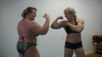 DVD Shawna Strong Female Wrestling vs Anna Konda and Red Devil
