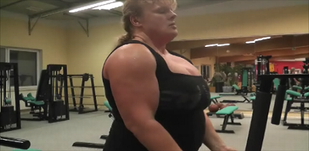 Anna Konda Female Wrestler, Female Powerlifter, Strongwoman, Muscledom