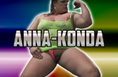 anna konda the naturalborndom. female muscle domination