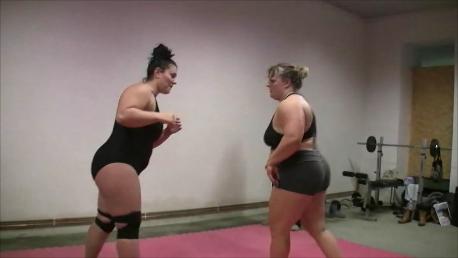 Wrestling Domination der Frauen