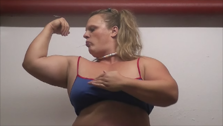 Anna Konda thick Female Muscles -German Shehulk